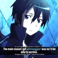 Sword Art  Online.  The source of Anime & Manga quotes