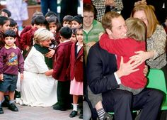 Princess Diana and Prince WIlliam Photo (C) GETTY IMAGES