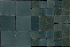 "N°13 ""Bleu gris moyen"" Tiles - Zelliges - Colours"