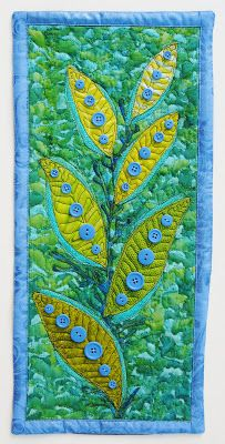 Button Plant by Robert Hartley: Fast Friday Fabric Challenge