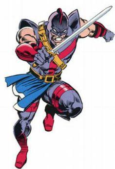 Swordsman (Jarvert) screenshots, images and pictures - Comic Vine Marvel Comic Character, Comic Book Characters, Marvel Characters, Comic Books, Marvel Villains, Marvel Dc Comics, Marvel Heroes, Detective, Marvel Cards