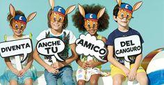 Scarica la maschera del canguro e colorala con il tuo bambino! Poi pubblica la foto su fb e instagram con #amicodelcanguro! www.cangurokids.it
