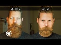 How to Trim Your Beard with Scissors | Eric Bandholz - YouTube