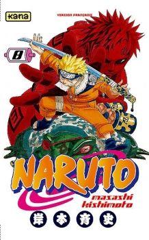 Couverture Naruto, tome 08