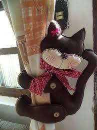 Resultado de imagem para gatos de tecido artesanato