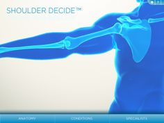 there's an app for that . Shoulder Decide beautifully demonstrates and teaches basic shoulder anatomy and pathology to patients 3d Anatomy Model, Shoulder Anatomy, Radiology Imaging, Physical Therapy Exercises, Occupational Therapy, Itunes, Physics, Connection, Medical