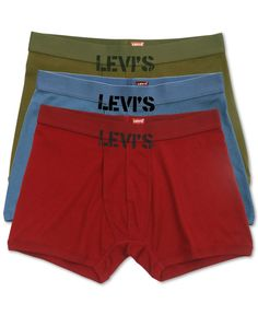 Levi's 100 Series Men's Boxer Briefs 3-Pack