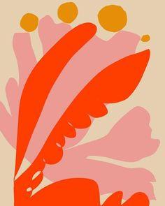 Ideas abstract art prints textiles for 2019 Art And Illustration, Plakat Design, Art Watercolor, Motif Floral, Art Inspo, Color Schemes, Print Patterns, Art Photography, Abstract Art