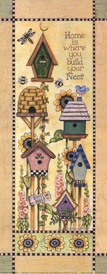 Casa de pájaros 12