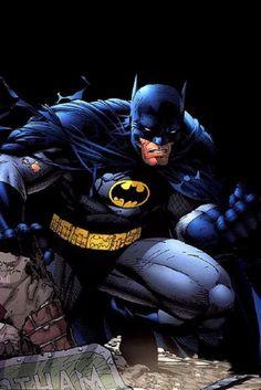Batman comic book art by Jim Lee Batman Vs Superman, Jim Lee Batman, Batman Hush, Batman And Catwoman, I Am Batman, Batman Robin, Batwoman, Batgirl, Dc Comics