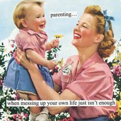 The Daily Glean: Vintage Mother's Day images & caption contest