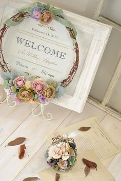 WELCOME Signage for your wedding