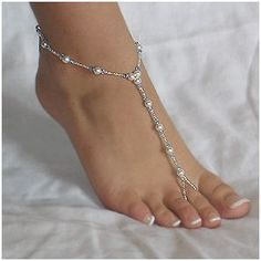 How to Make Beaded Foot Jewelry for The Beach