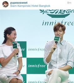 nice Lee min ho at Innisfree Festa event at Bangkok…!!!