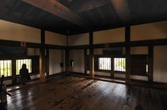 Traditional Japanese. Very beautiful, but again, a bit too dark for my taste. I love the high ceilings -- they are common to these traditional designs but hard to achieve in the West.