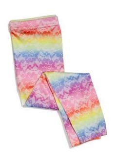Capelli NY  Rainbow Lace Print Capri Leggings