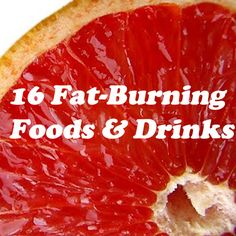 Here's an easy way to lose weight! Add some of these 16 Fat-Burning Foods & Drinks into your diet.