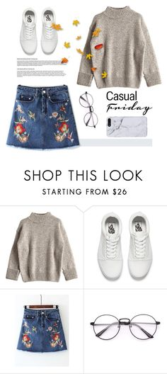 """Lazy day today//"" by sweet-fashionista ❤ liked on Polyvore featuring Vans"