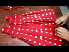 Vestidos para niñas. Miladis López. 1/5 - YouTube