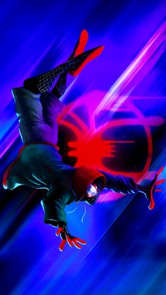 Miles Morales - Ultimate Spider-Man, Into the Spider-Verse Marvel Images, Marvel Art, Marvel Comics, Thor Wallpaper, Crazy Wallpaper, Tableau Star Wars, Best Marvel Characters, Miles Morales Spiderman, Venom Comics