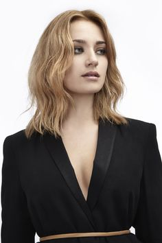 F/W 2014 Hair Trends: Add texture to your bob for effortless glam. Styled using Umberto Giannini Glam Hair range. #UmbertoGiannini. Shop the look: umbertogiannini.com