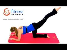 Pilates Butt and Thigh Workout - Butt Lifting Pilates Workout for Toned Legs by FitnessBlender.com