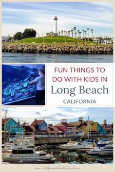 Long Beach, California is a fantastic destination in Southern California. From beaches to museums to the Aquarium of the Pacific and the Queen Mary, here are 18 fun things to do in Long Beach with kids. #longbeach #california #familytravel Long Beach California, California Travel, Southern California, Greek Cafe, Downtown Long Beach, Belmont Shore, California Attractions, Harbor View, Visitors Bureau