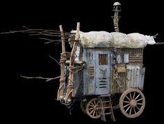I. Sans bois le feu meurt - Théâtres d'objet et sculptures voyageuses