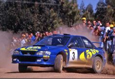 The late Colin McRae is the most popular rally driver of all time despite having won only one World Rally Championship title in Subaru Rally, Subaru Impreza Wrc, Rally Drivers, Rally Car, Sport Cars, Race Cars, Richard Burns, Rallye Wrc, Colin Mcrae