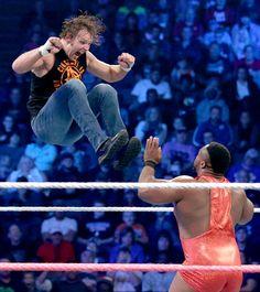 SmackDown 10/15/15: Dean Ambrose & The Dudley Boyz vs The New Day