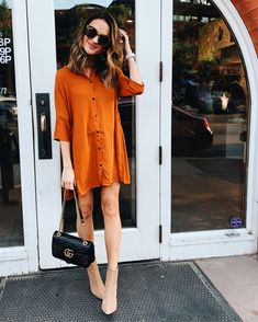 Posts from laurenkaysims Looks Style, Mom Style, Smock Dress, Shirt Dress, Lauren Kay Sims, Karen Walker Sunglasses, Casual Outfits, Fashion Outfits, Womens Fashion