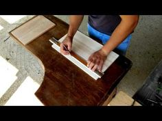Wood Chip Carving - Wooden Tray, part 1 - Introduction - YouTube