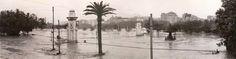 La Alameda. Riada de 1957