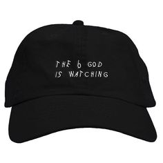 Drake 6 God Text Dad Hat – Fresh Elites Embroidered Hats 6d4806c6a311