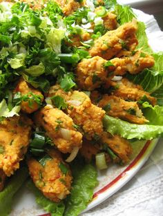 "red lentil croquettes (not fried, very healthy)  Turkish Recipes: ""Mercimek Köftesi""."