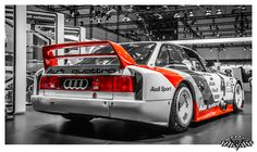 Aloha! I saw this very special Audi 90 at the last years Techno Classica in Essen/Germany ;-)