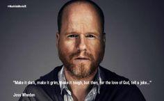 Joss Whedon on storytelling.