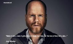 Joss Whedon on storytelling.