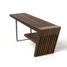 - the Freeman Bench by is handcrafted here in BC. Showcasing both geometry and joinery, it's a style must in your space!