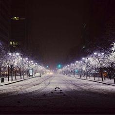 Snowed Santiago 2017 --La noche que nevó en Santiago. CHILE