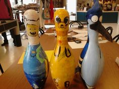 Picture of Bowling Pin Costuming Playground Design, Indoor Playground, Bowling Pins, Bowling Ball, Bowling Pictures, Camping With Teens, Pin Art, Yard Art, Beach Towel