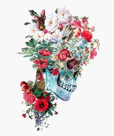 Momento Mori RPE Canvas Print by rizapeker Memento Mori, Illustrations, Illustration Art, Skull Artwork, Skeleton Art, Skull Wallpaper, Poses References, Skulls And Roses, Flower Skull