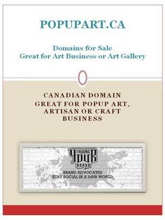 Domain for Sale - www.popupart.ca