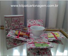 Caixa Surpresa - Xícara e chá