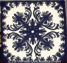Exquisite Hawaiian Style Quilt