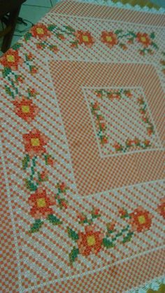 Chicken Scratch, Cross Stitch Borders, Decoupage, Shabby, Diy Crafts, Embroidery, Crochet, Cross Stitch Embroidery, Embroidered Towels