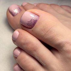 48+ Simple Easy Toe Nail Designs for Summer Toenails Pedicure Ideas - Overview - apikhome.com #cute