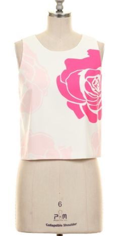 Rose Graphic Top
