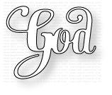 Papertrey Ink - Inspired: God Die: Papertrey Ink Clear Stamps Dies Paper Ink Kits Ribbon