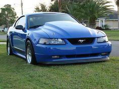Lookin' mean...Mach 1 Mustang